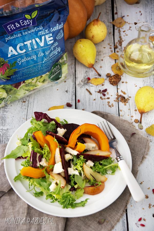 FIT&EASY – sałatka z pieczonymi warzywami