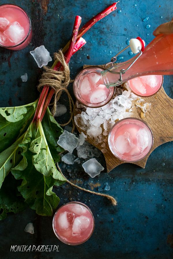 fotografia kulinarna - kompot z rabarbaru-001